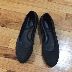 Born leather ballet flats